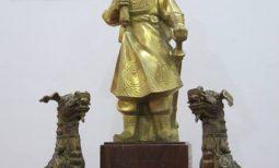 Quá trình tạo hình hình tượng Hưng Đạo Đại Vương Trần Quốc Tuấn.