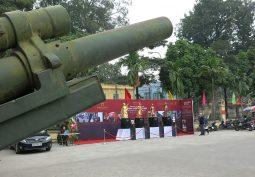Toàn cảnh lễ ra mắt giai đoạn 1 của dự án Danh tướng Việt Nam.