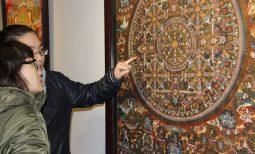Khi hội họa truyền tải những thông điệp Phật giáo
