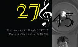 Triển lãm ảnh Nhạc Trưởng 27/45 của nhà báo Nguyễn Đình Toán
