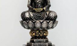 [Đề xuất Kỷ lục Việt Nam] Phiên bản Bảo vật Quốc gia tượng Phật A Di Đà thời Lý nhỏ nhất