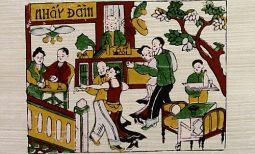 Điều thú vị về tranh Đông Hồ thời Pháp thuộc