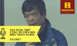 [Tọa đàm Thờ cúng tổ tiên đôi điều nhân nghĩa] Phát biểu của Ông Võ Điện Biên và bà Võ Hòa Bình