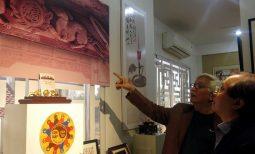 Thứ trưởng Bộ VHTT&DL Tạ Quang Đông tham quan triển lãm Con giáp của tôi Canh Tý 2020