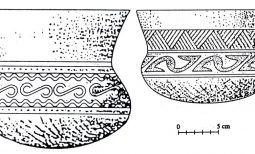 Hoa văn trang trí trên đồ gốm Phùng Nguyên