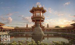Choáng ngợp khi tham quan chùa Một Cột – Diên Hựu tự thời Lý với thực tế ảo 3D (VR3D)